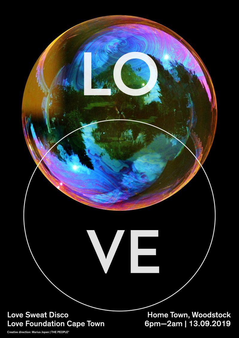 Love Sweat Disco Poster