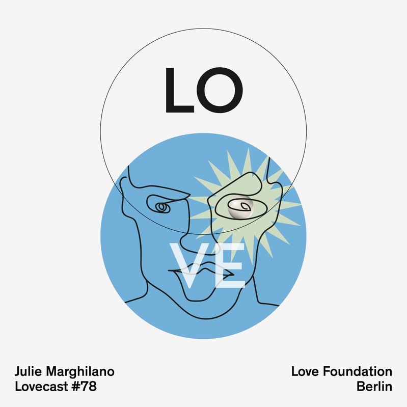 Lovecast 78 - Julie Marghilano - Recorded for Love Foundation Berlin Poster