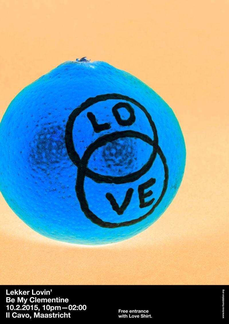 Lekker Lovin: Be My Clementine Poster