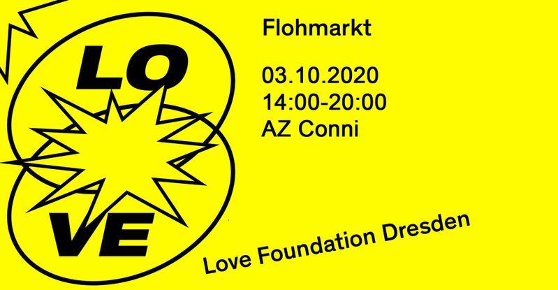 Flohmarkt im AZ Conni Poster