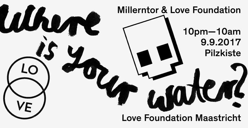 M I L L E R N T O R // Love Foundation x Pilskiste Poster