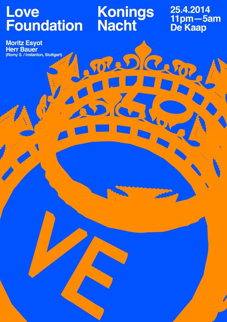 Love Koningsnacht Poster